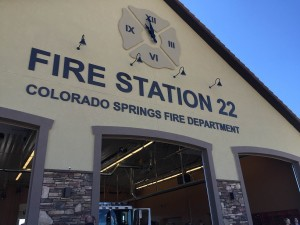 New Fire Station in Colorado Springs